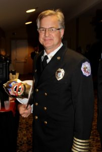 Retired fire chief Greg Martin joined fire station architecture firm BKV Group as a public safety specialist.