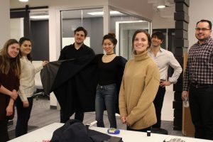 BKV Chicago is participating in Stitch, a competition in which design firms team with product reps to create haute couture.