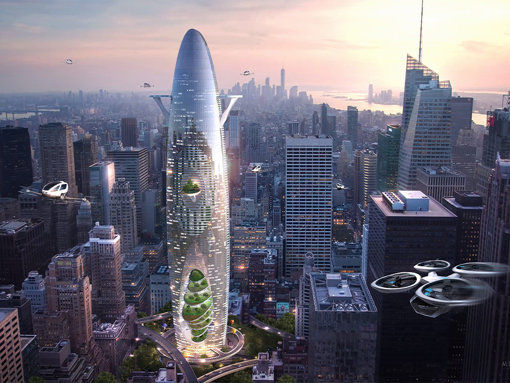 Vertical Sustainable City Bkv Group High Rise Architecture